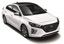 HYUNDAI IONIQ Hybrid 1.6 GDI (seit 2016) Aufsicht Front