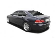 BMW 745d (2005-2005, E65) Heck + links