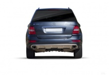 Mercedes-Benz ML 420 CDI 4Matic 7G-TRONIC DPF (2008-2009) Heck