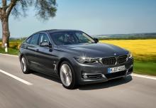 BMW 320i GT (seit 2016) Front + rechts