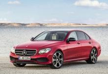 Mercedes-Benz E 400 4Matic 9G-TRONIC (seit 2016) Front + links