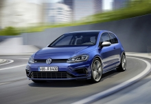 VW Golf R 4Motion BlueMotion Technology (seit 2017) Front + links