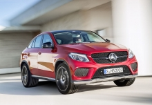 Mercedes-Benz AMG GLE 43 Coupe 4M 9G-TRONIC (seit 2016) Front + rechts