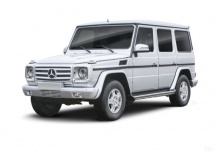 Mercedes-Benz G 320 CDI (2008-2009) Front + links