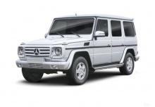 Mercedes-Benz G 500 7G-TRONIC (seit 2015) Front + links