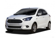 Ford Ka+ 1.2 Ti-VCT (2016-2016) Front + links