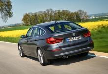 BMW 320i GT (seit 2016) Heck + links