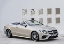 Mercedes-Benz E 300 Cabrio 9G-TRONIC (seit 2017) Front + rechts