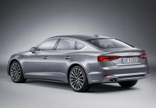 Audi A5 Sportback 2.0 TFSI S tronic (seit 2016) Heck + links