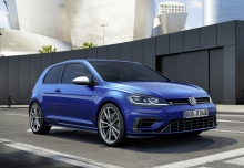 VW Golf R 4Motion BlueMotion Technology (seit 2017) Front + rechts