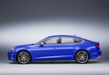 Audi S5 Sportback 3.0 TFSI quattro tiptronic (seit 2016) Front + links