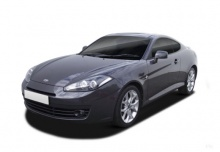 Hyundai Coupe 2.7 V6 Automatik (2007-2009) Front + links