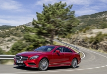 Mercedes-Benz CLS 220 d 9G-TRONIC (2016-2016) Front + links