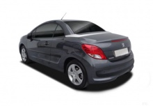 Peugeot 207 CC FAP 110 (2014-2014) Heck + links