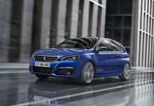 Peugeot 308 BlueHDi FAP 120 EAT6 Stop&Start (seit 2015) Front + links