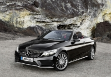 MERCEDES-BENZ C 400 Cabrio 4Matic 9G-TRONIC (seit 2016) Front + links