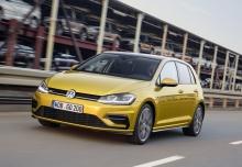 VW Golf 1.0 TSI BlueMotion Technology DSG (seit 2016) Front + links