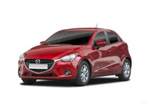 Mazda 2 SKYACTIVE-G 75 (seit 2014) Front + links
