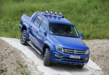 VW Amarok 3.0 TDI 4MOTION (seit 2016) Front + links