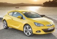 OPEL Astra GTC 1.4 Turbo (2016-2016) Front + rechts