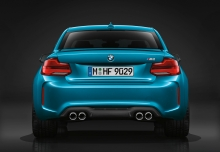 BMW M2 Coupe (2017-2017) Heck