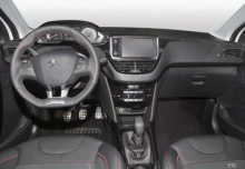 Peugeot 2008 PureTech 82 (seit 2014) Armaturenbrett