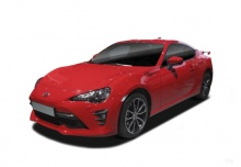 Toyota GT86 (seit 2016) Front + links