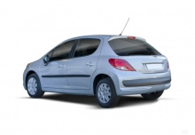 Peugeot 207 110 HDi FAP (Blue Lion) (2010-2011) Heck + links