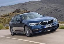BMW 540i xDrive Touring Aut. (seit 2017) Front + rechts