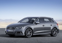 Audi S3 Sportback (2016-2016) Front + links