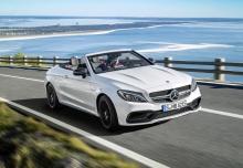 Mercedes-Benz AMG C 63 Cabrio AMG Speedshift 7G-MCT (seit 2016) Front + rechts