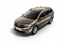 Dacia Logan MCV SCe 75 (seit 2016) Front + links
