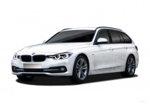 BMW 320i Touring (seit 2015) Front + links