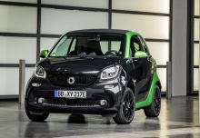 Smart smart fortwo coupe electric drive (seit 2017) Front + links
