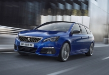 Peugeot 308 SW BlueHDi 120 EAT6 Stop & Start (seit 2015) Front + links