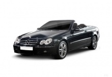 Mercedes-Benz CLK Cabrio 320 CDI 7G-TRONIC (2005-2009) Front + links