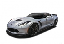 Chevrolet Corvette Stingray 2LT 6.2 V8 (seit 2015) Front + links