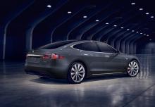 Tesla Tesla Model S 60 (seit 2016) Heck + rechts