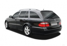 Mercedes-Benz E 230 T 7G-TRONIC (2007-2009) Heck + links