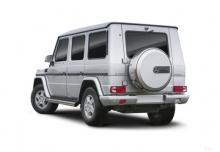 Mercedes-Benz G 300 CDI L Automatik DPF (2010-2013) Heck + links