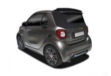 Smart smart fortwo cabrio (seit 2016) Heck + links