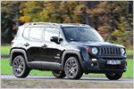 Kernige Geburtstagsgrüße: Test Jeep Renegade 2.0l Multijet 75th Ann...