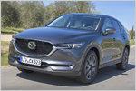 Mazda CX-5 (2017) im Test: Kompakt-SUV-Fahrbericht mit technischen ...