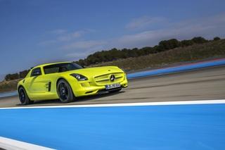 Mercedes SLS Black Series und Electric Drive - Jeckyll und Hyde im ...