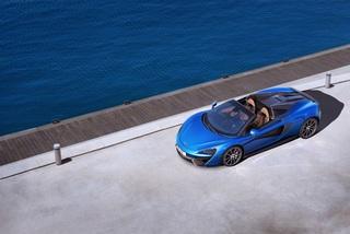 McLaren 570S Spider  - Jetzt auch offen