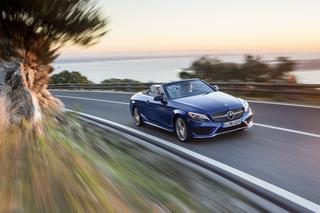 Test: Mercedes C-Klasse Cabrio 250 d - Auch für spontane Sommer gee...
