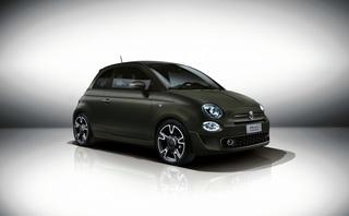 Fiat 500S - Kleiner Italiener in Tarnfarben