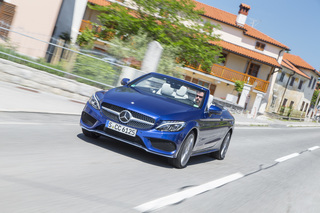 Fahrbericht: Mercedes-Benz C-Klasse Cabriolet - Lücke mit Offenheit...