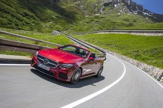 Fahrbericht: Mercedes E-Klasse Cabrio - Und die Frisur sitzt