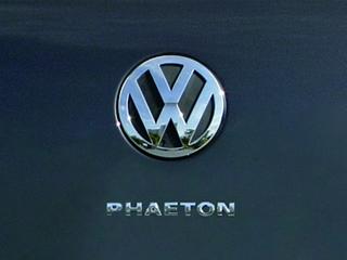 Überarbeiteter VW Phaeton steht in Peking